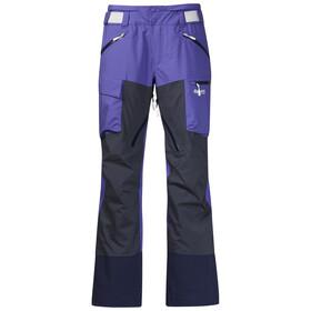 Bergans W's Hafslo Pants Funky Purple/Night Blue/White